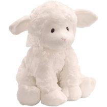 Gund Jesus Loves Me Lena Lamb Musical Stuffed Animal (with winding key)