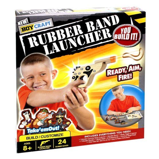 Boy Craft Rubber Band Launcher
