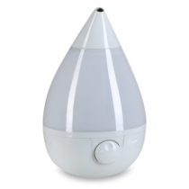 "Crane ""Grey"" Drop Shape Cool Mist Humidifier"