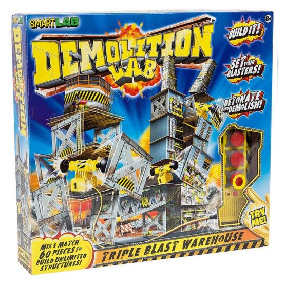 Smartlab Demolition Lab Triple Blast Warehouse