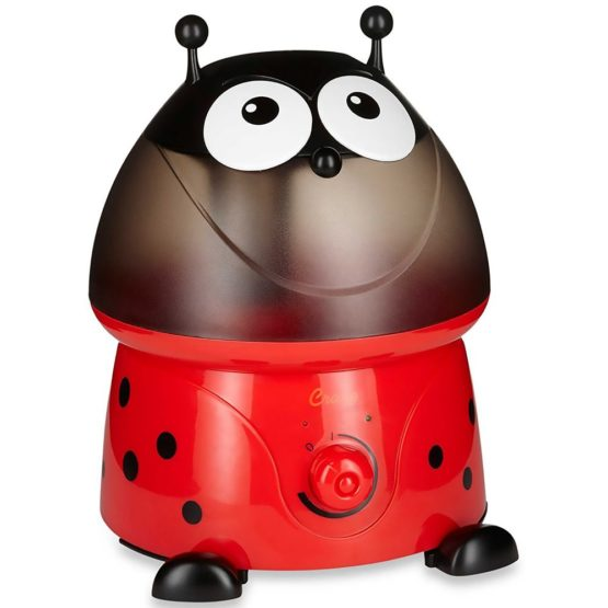 "Crane Adorable Cool Mist Humidifier – ""Lily the Lady Bug"""
