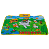 Playmat Farm Music Playmat