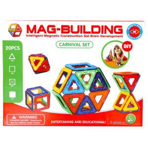 20pcs. Mag-Building Carnival Set