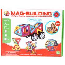 36pcs. Mag-Building Carnival Set
