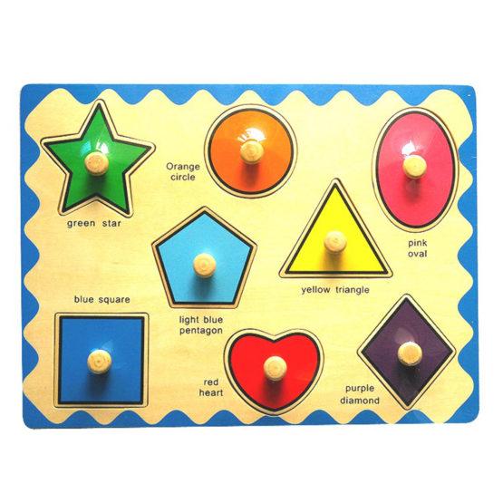 Young Mindz Geometric Shapes Puzzle