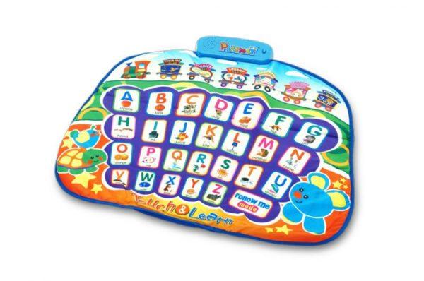 ABC Learning Garden Playmat