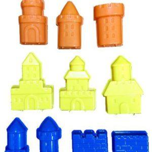 3D Dream Castle Moulds