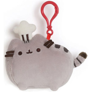 Gund –  Pusheen Chef Hat Backpack Clip Stuffed Animal