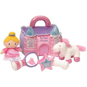 Gund – Baby Princess Castle Playset Toy, 8-inch