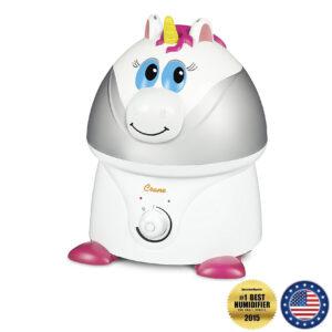 "Crane Adorable Cool Mist Humidifier – ""Misty the Unicorn"""