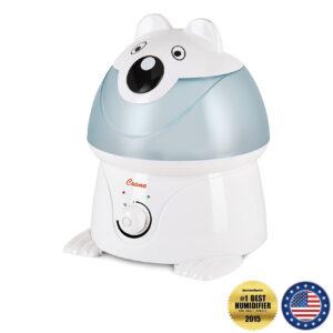 Crane Adorable Cool Mist Humidifier – Chauncey the Polar Bear