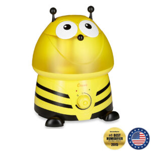 "Crane Adorable Cool Mist Humidifier – ""Buzz the Bumblebee"""