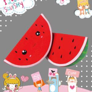SanQi Elan – Super  Slow Rise Kawaii Watermelon Scented Squishy