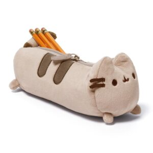 Gund – Pusheen Cat Plush Stuffed Animal Accessory Pencil Case, Gray, 8.5″