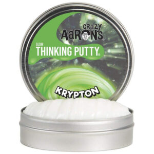 Crazy Aaron Thinking Putty – Glow In The Dark Krypton 2″ Tin Slime