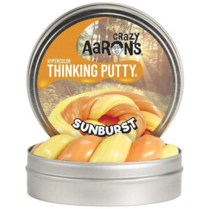 Crazy Aaron Thinking Putty – Sunburst Hypercolor 2″ Tin Slime