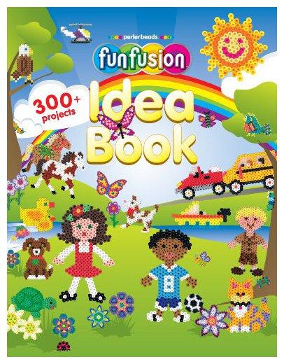 Perler Beads 22662 Fun Fusion Idea Book