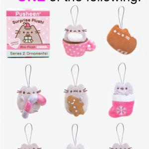 Gund Pusheen Surprise Plush Blind Box – Ornaments Series #2, 2.75″