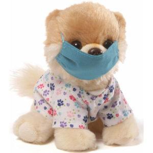 Gund – Itty Bitty Boo Scrubs Stuffed Dog 5″ Plush