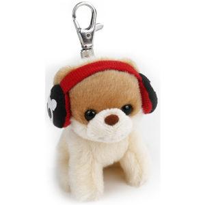 Gund Itty Boo in Earmuff  Keychain