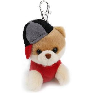 Gund Itty Boo in Hat  Keychain