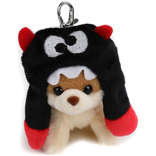 Gund Itty Boo in Scarf  Hat Keychain