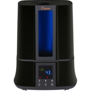 Crane Black Digital Warm & Cool Mist Humidifier