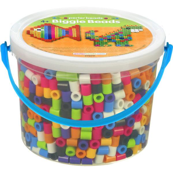 Perler Beads 70711 Biggie Beads Fun Fusion Bead Bucket