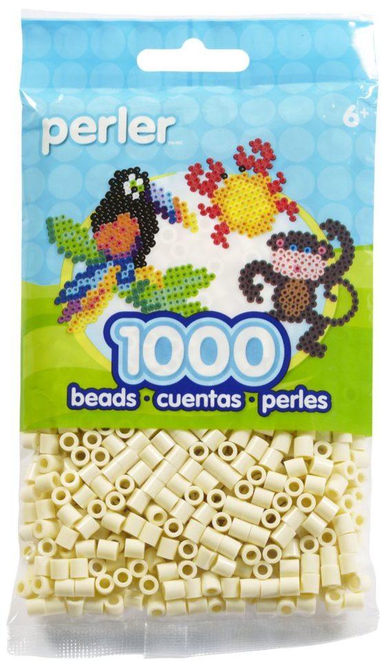 Perler Beads Creme Bag
