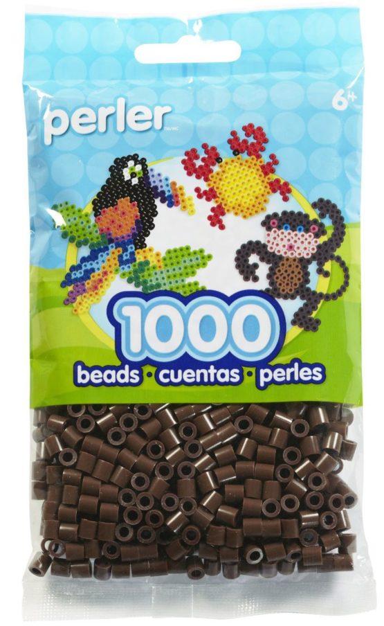Perler Beads Brown Bag