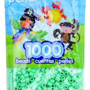 PERLER BEADS Pastel Green Bag