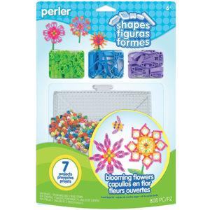 Perler Beads Perler Shapes Fused Bead Kit – Blooming Flowers