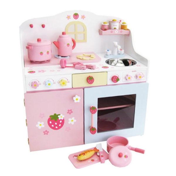 Mother Garden Deluxe Strawberry Kitchen Set
