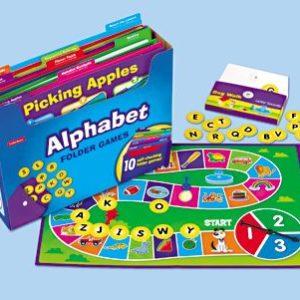Alphabet Folder Game Library – Pre K-K