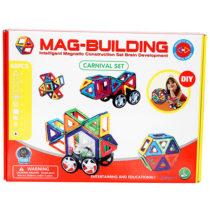 48pcs. Mag-Building Carnival Set