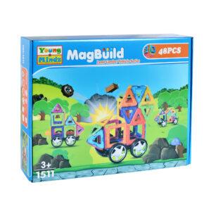 YOUNG MINDZ 48pcs. Mag-Building Carnival Set