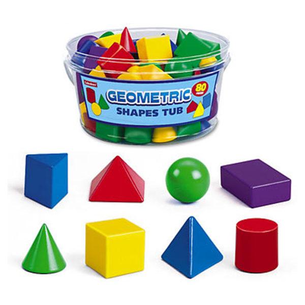Lakeshore Geometric Shapes Tub