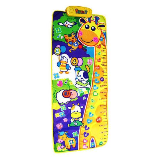 Playmat Giraffe Height Chart & Musical Playmat
