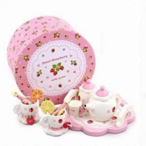 Sweet Strawberry Tea Set