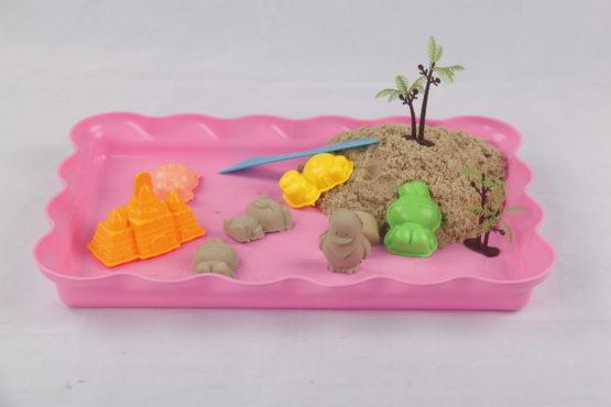 Plastic Sand Tray – Pink