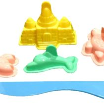3D Fun Beach Moulds