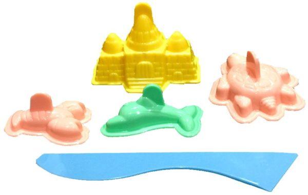 3D Fun Beach Moulds