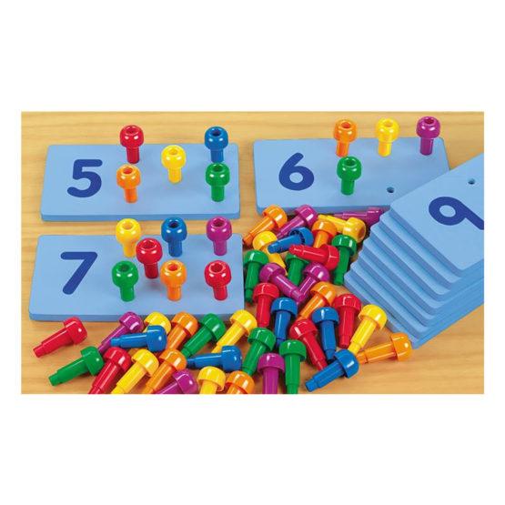 Lakeshore Peg Number Boards