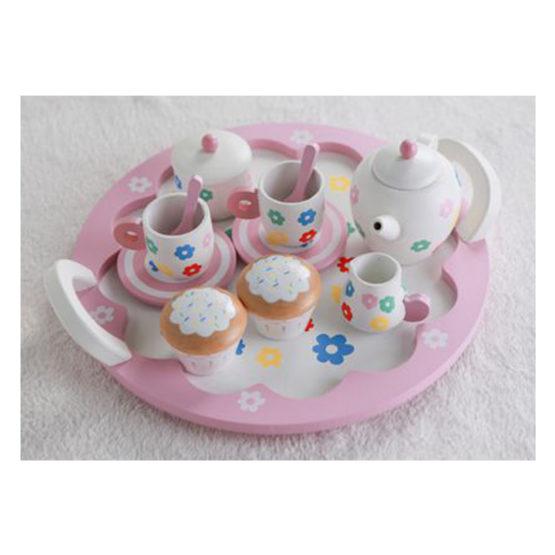 Young Mindz Pink Cupcake and Tea Set