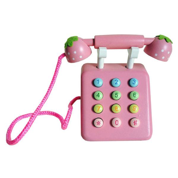 Mother Garden Pink Telephone Set