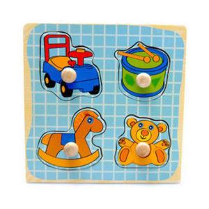 Young Mindz Playroom Toys Knob Puzzle