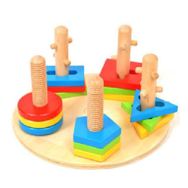 Young Mindz Rotate-to-Match Blocks