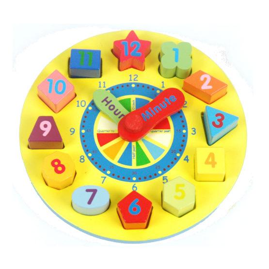 Young Mindz Shape Sorting Clock