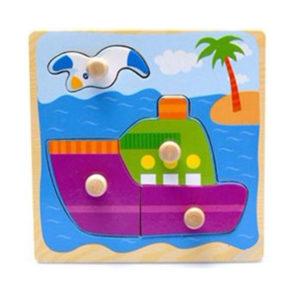 Yound Mindz Ship Knob Puzzle