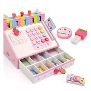 Mother Garden Strawberry Cash Register